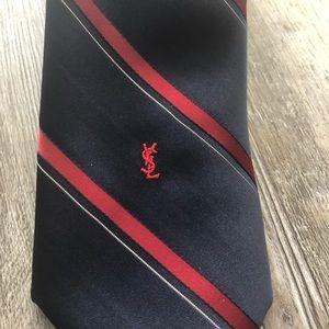Men's YSL Yves Saint Laurent Tie
